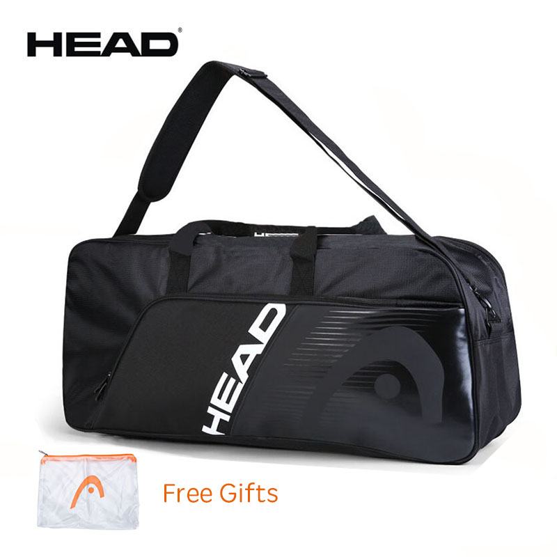 Whole Black Men s HEAD Tennis Bag With CCT Insulation Original Tennis Racket Bag Max For