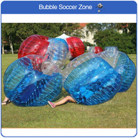 Free Shipping 1.2m 0.8mm TPU Inflatable Bubble Ball Soccer For Children Bubble Soccer Zorb Ball Inflatable Bumper Ball