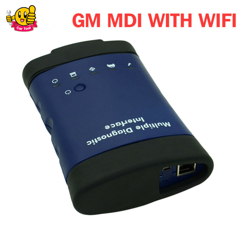 for G M MDI Multiple Diagnostic Interface MDI Diagnostic Tool With MultiLanguage With wifi Without Software Free Shipping By DHL