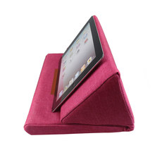 Portable Plush Tablet Holder Angled Cushion Lap Cooling Stand for iPad Book Reader PC JR Deals(China)
