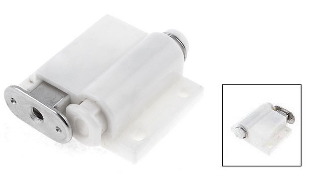 cupboard door bore diameter white magnetic catch latch 18u0026quot long 2pcschina