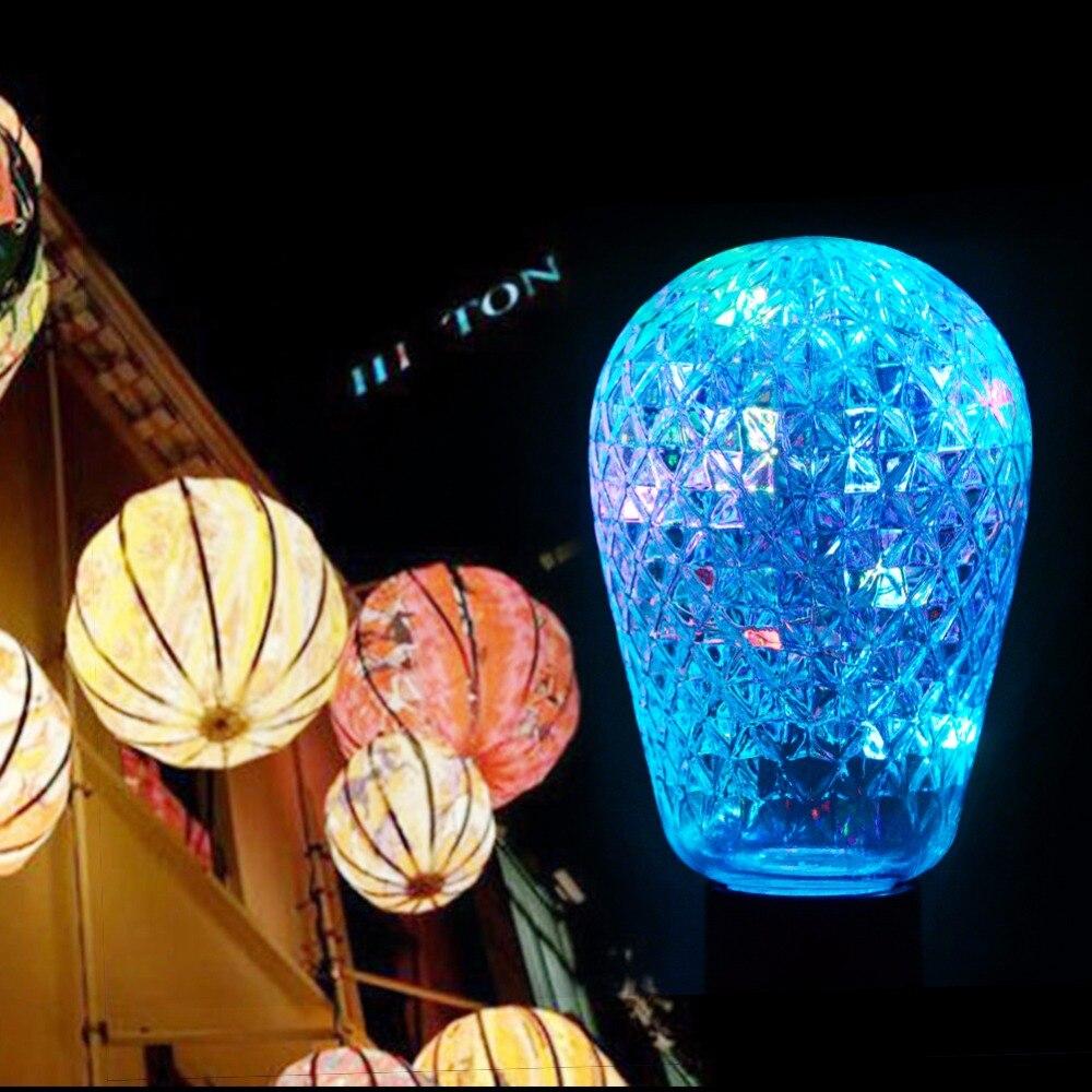 foxanon led holiday lights e27 110v 220v led wire light. Black Bedroom Furniture Sets. Home Design Ideas