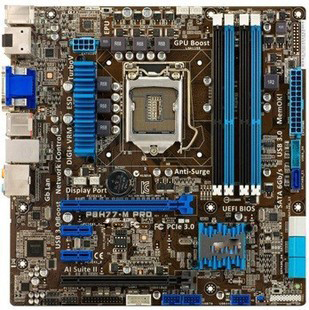 P8H77-M PRO Carte Mère De Bureau D'origine H77 Socket LGA 1155 Pour i3 i5 i7 DDR3 32G SATA3 USB3.0 uATX