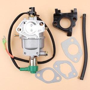 Image 2 - Генератор карбюратор соленоидная прокладка комплект для HONDA GX340 GX390 188F 5 кВт 6,5 кВт 11/13HP двигатель автомобильный дроссель