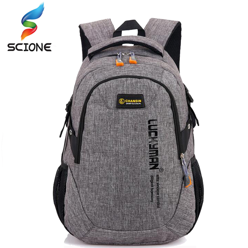 New High Quality Waterproof Nylon Brand Sports Men Women Backpack Polyester Bag