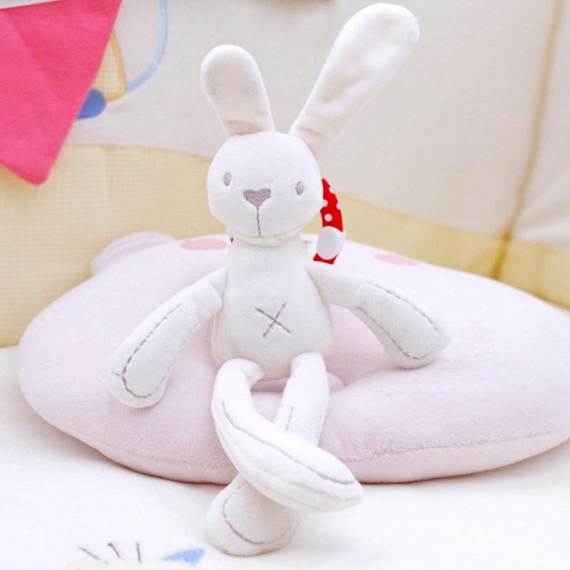 Bayi buaian kereta dorong mainan kelinci kelinci beruang lembut - Mainan untuk kanak-kanak - Foto 4