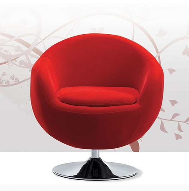 Modern Fashion Casual Computer Chair Bedroom Living Room Balcony Egg Chair  Swivel Desk Chair Specials Apple