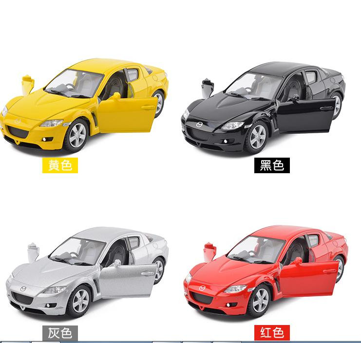1:36 Alloy Pull Back Mazda RX 8 Sports Car, High Simulation 2 Open Door Car  Model, Metal Castings, Toy Vehicles, Free Shipping In Diecasts U0026 Toy  Vehicles ...