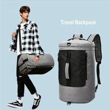 ジムダッフルバッグ男性 36L 旅行荷物バッグ女性デザイナーモールフィットネストレーニングショルダーバッグ多機能アウトドアリュック