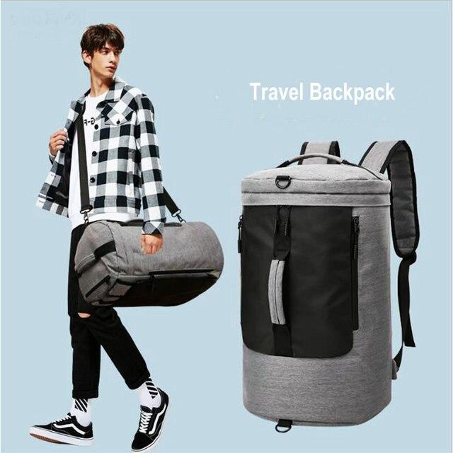 Спортивная сумка для мужчин 36L, дорожная сумка для багажа, женская дизайнерская сумка для фитнеса Molle, многофункциональная сумка на плечо для занятий спортом, рюкзак для улицы