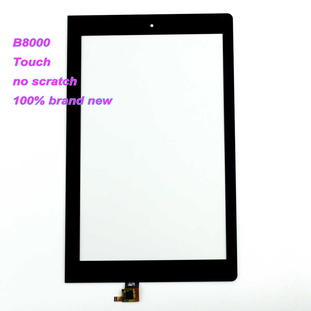 Starde 10.1 Lenovo B8000 Yoga Tablet 10 60047 LCD Ekran matris ekran Dokunmatik Digitizer Sensörü Tam Meclisi ile Çerçeve