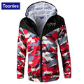 Man Bomber Jacket Camouflage Jackets 2017 Spring Men's Sportswear Fashion Slim Hooded Zipper Military Brand Clothing Windbreaker