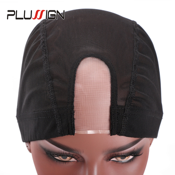 Plussign Black Mesh Dome Cap Wholesale 1PC Breathable Glueless Stretchable Spandex Hair Net Weave For Making A Wig - discount item  31% OFF Hair Tools & Accessories