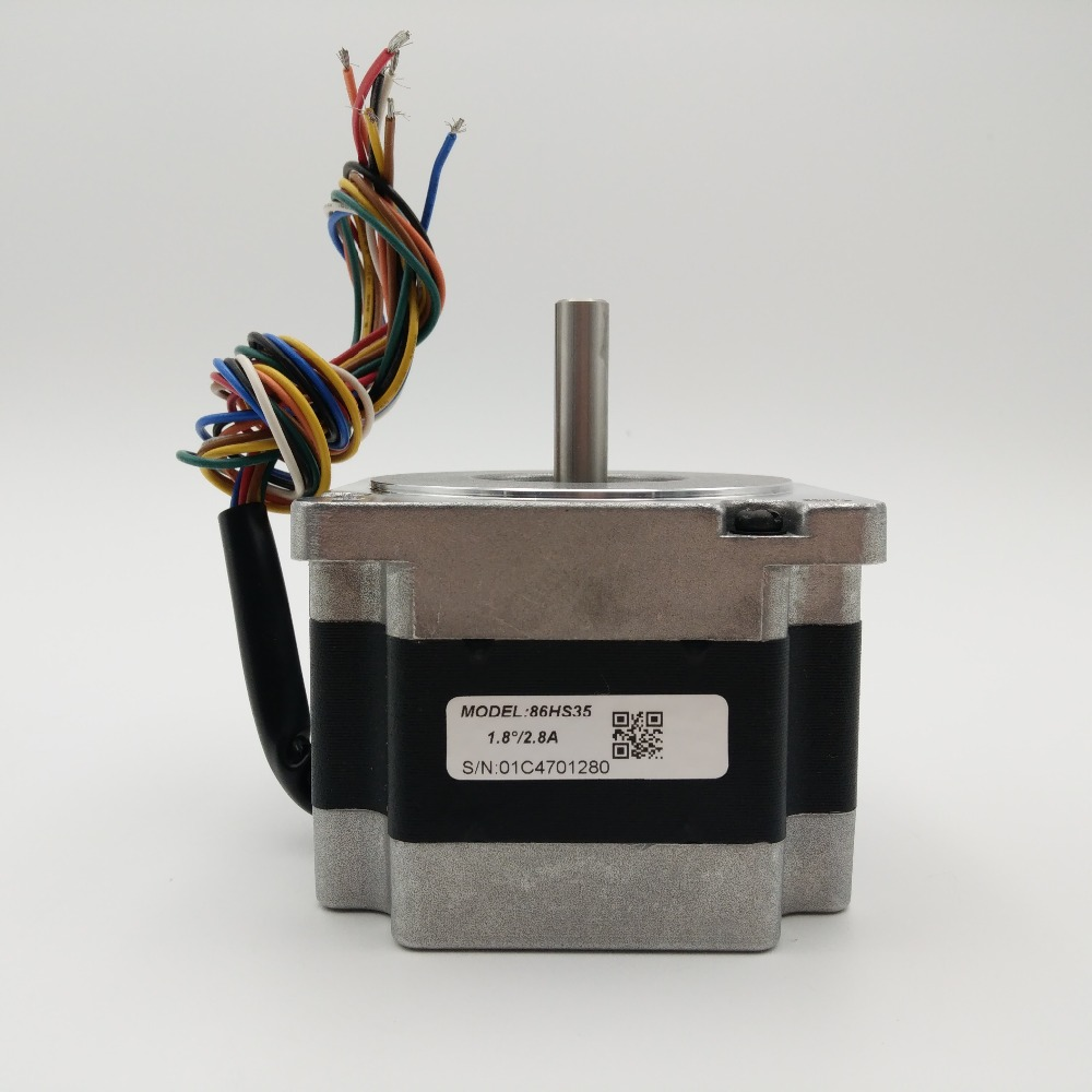 Leadshine 3.5Nm 500oz-in NEMA34 Stepper Motor 86HS35 2phase 2.8A 8leads Stepper Motor for Laser Machine CNC Router мастер пленка b4 kagaku ra rc s 568