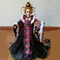 31cm Tang Dynasty Consort Xiao 12Jointed Moveable Doll High-end Handmade Chinese Costume Bjd 1/6 Doll Girl Birthday Gift Toys