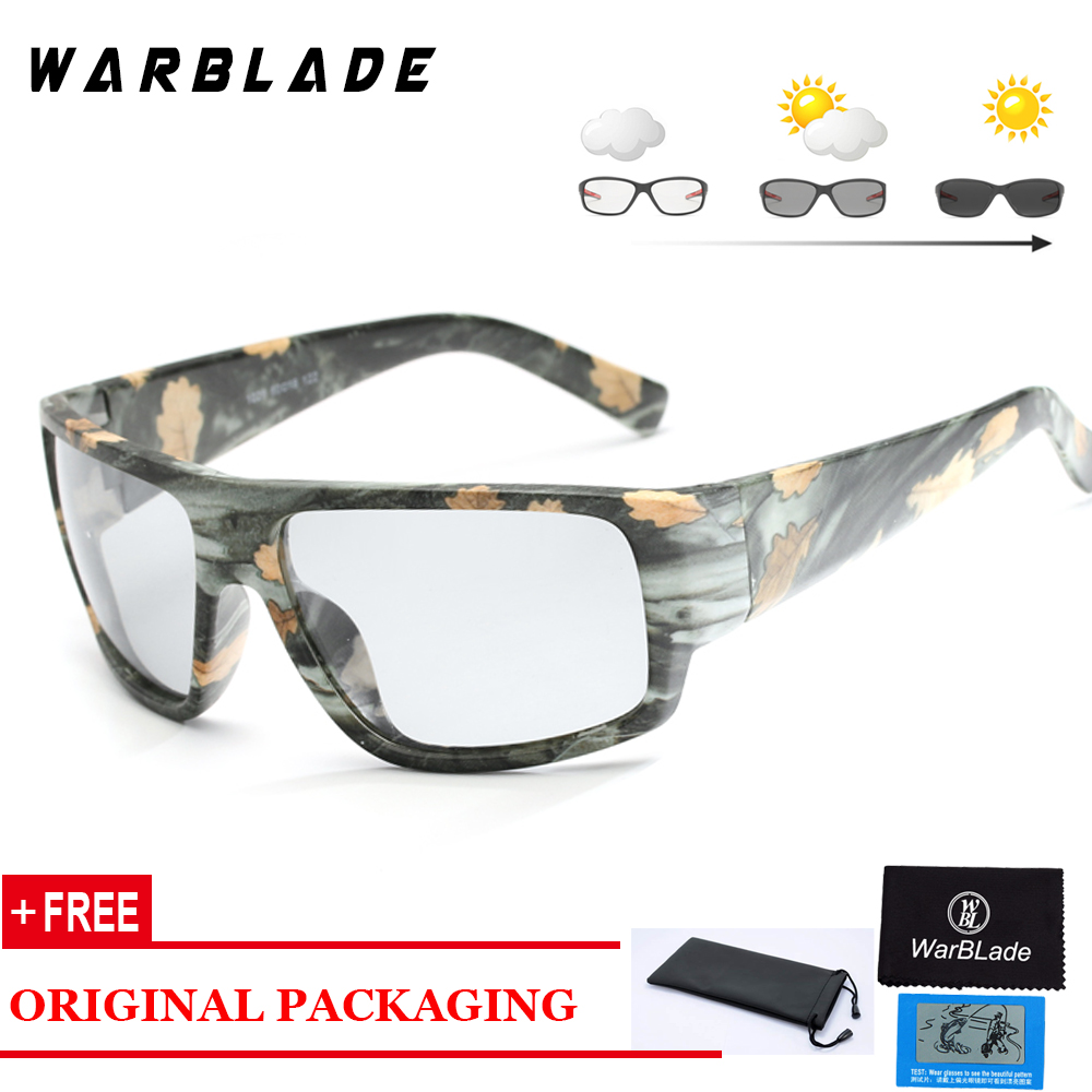 dea634ca94 Mens Outdoor Driving Fishing Sunglasses Transition Lens Sunglasses HD  Polarized Sunglasses Photochromic Sunglasses WarBLade-in Sunglasses from  Apparel ...