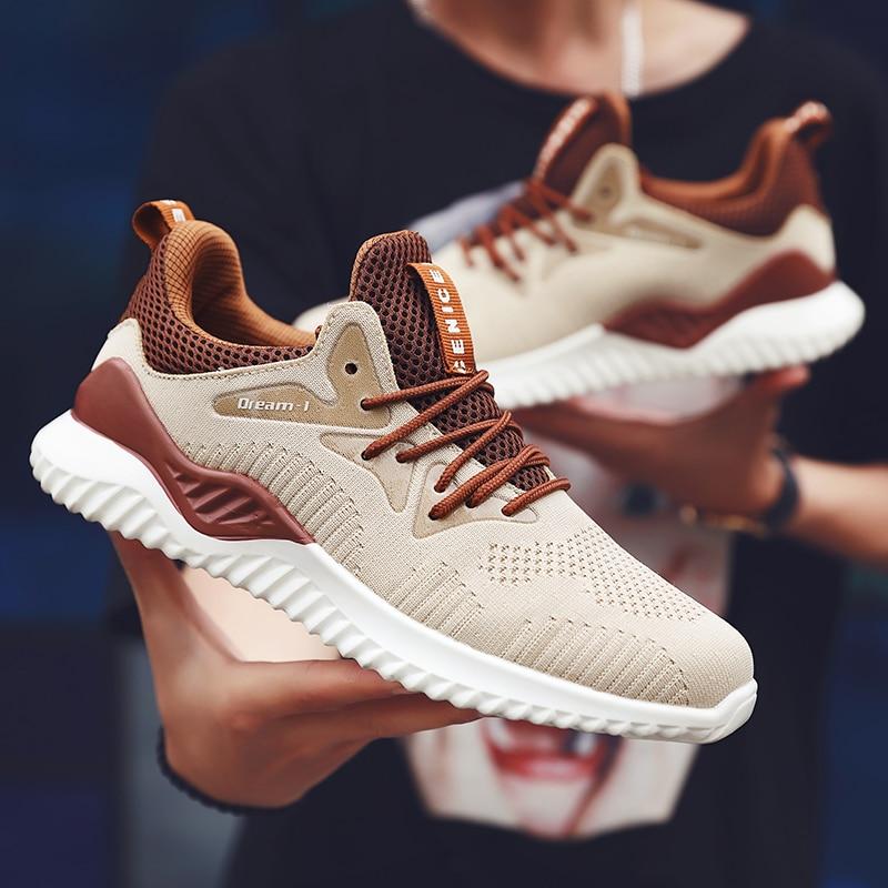 2019 Hot Sale Men Summer Casual Running Shoes Men Trainers Zapatillas Sports Sneakers Male Shoes Outdoor Walking Sneakers Big Sz zapatillas de moda 2019 hombre