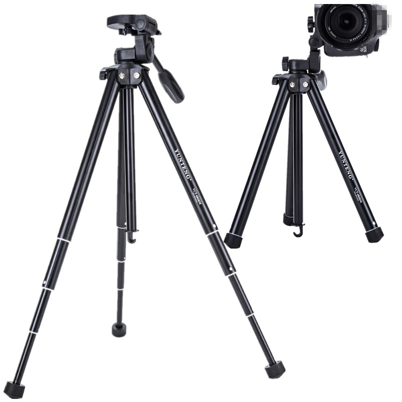 YUNTENG 686 digital camera Portable tripod For Nikon Sony
