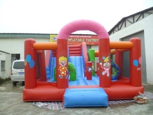 Inflatable jumping castle playground, inflatable fun city trampoline