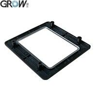 Grow gm71 gm72 preto painel de proteção de plástico gabinete escudo fixo painel frontal do leitor 1d 2d scanner código de barras