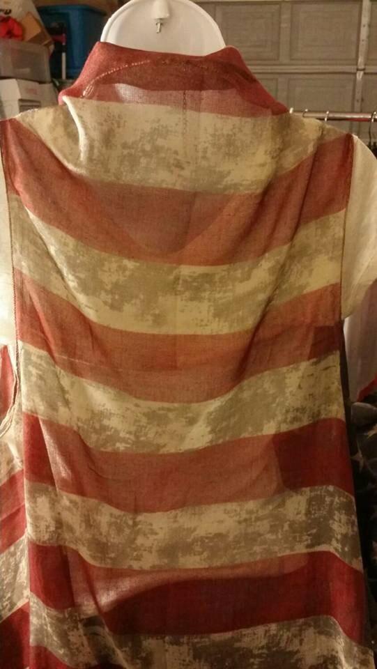 DiscountAmerican Flag Vintage pashmina VestÏ