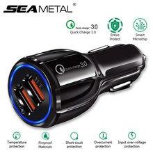 Quick Charge 3,0 Автомобильное зарядное устройство прикуривателя адаптер QC 3,0 Dual USB порт быстрая зарядка автомобильные аксессуары для телефона DVR MP3