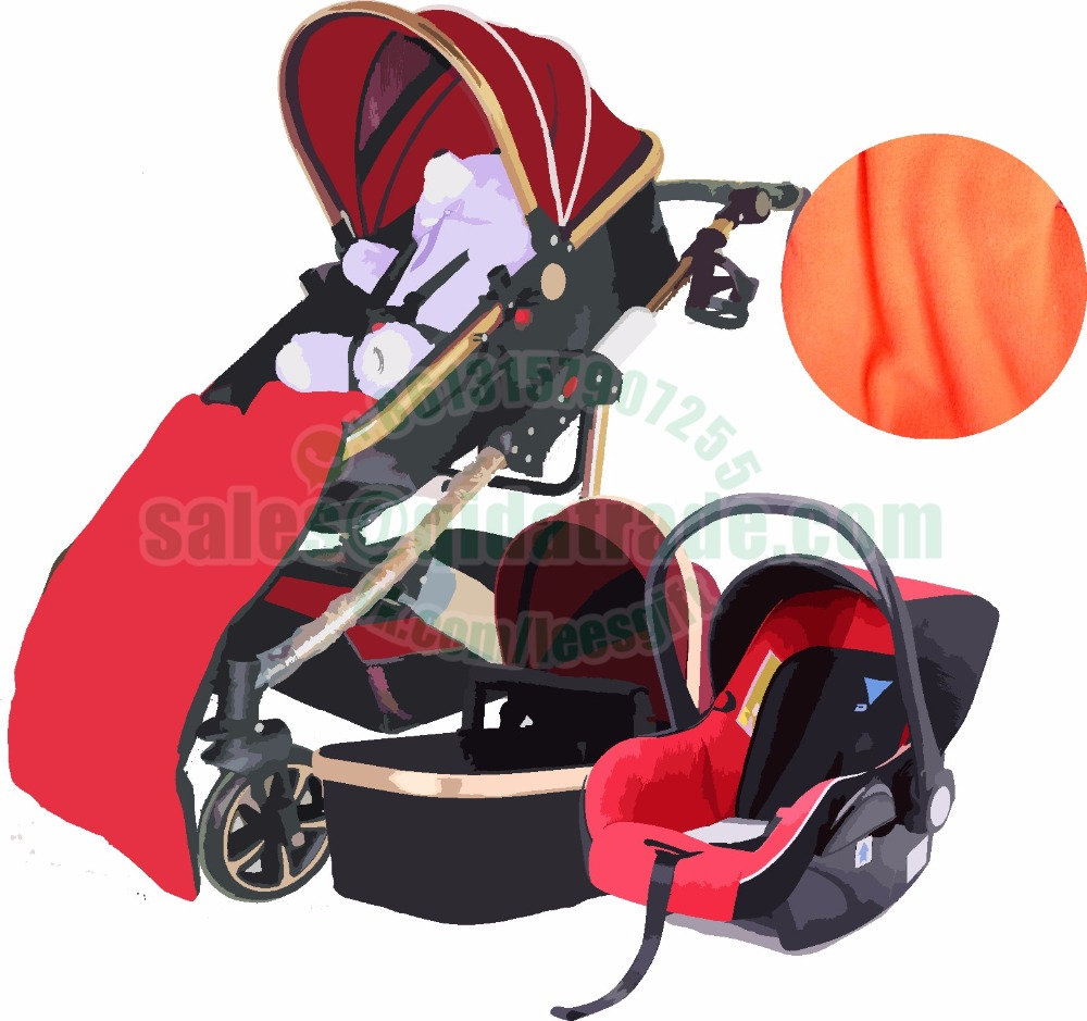 Baby Stroller 3 in 1 With Car Seat High Landscope Folding Baby Carriage For Child From 0-3 Years Prams For Newborns wheels chair 2016 cute fashion baby stroller high view prams folding poussette kinderwagen bebek arabas prams for newborns with eva wheels