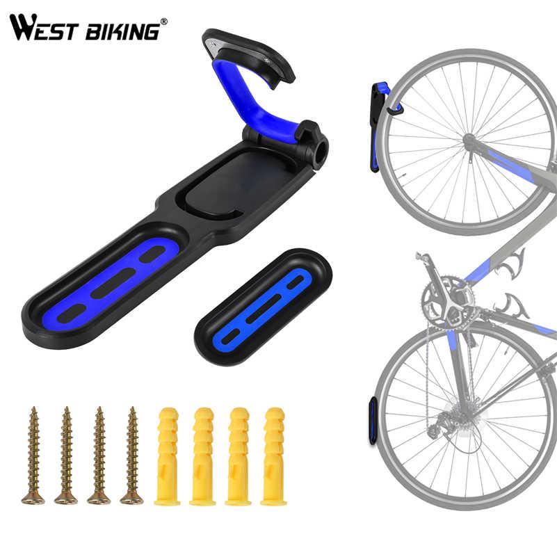 west biking support mural de velo support de velo crochet de rangement accessoires de velo vtt supports muraux
