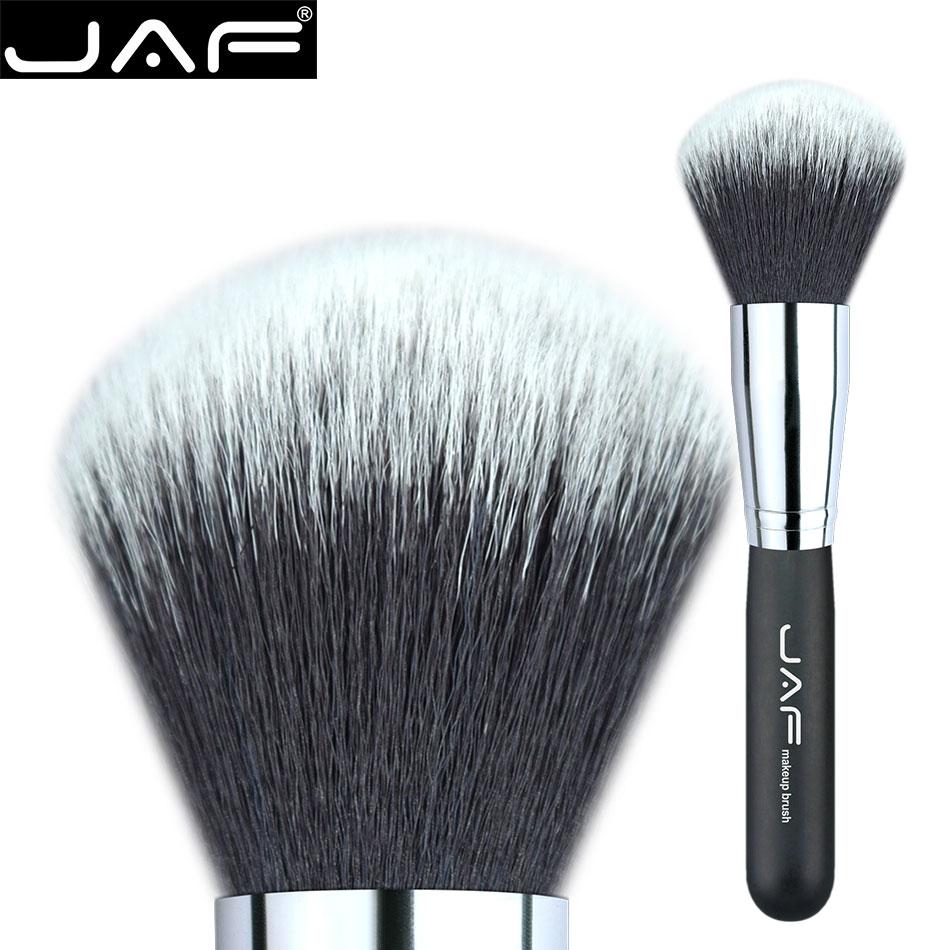 Retail JAF 18SSY Extra Large Makeup Powder Brush Soft Taklon Synthetic Hair Finishing Cosmetics Brush Tool
