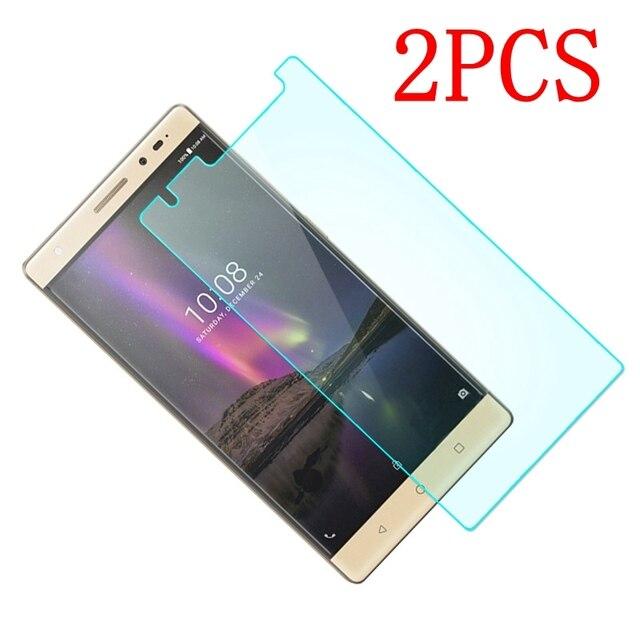 2 pièces verre trempé dorigine pour Lenovo Phab 2 Plus film protecteur décran pour verre PB2 670M PB2 670Y