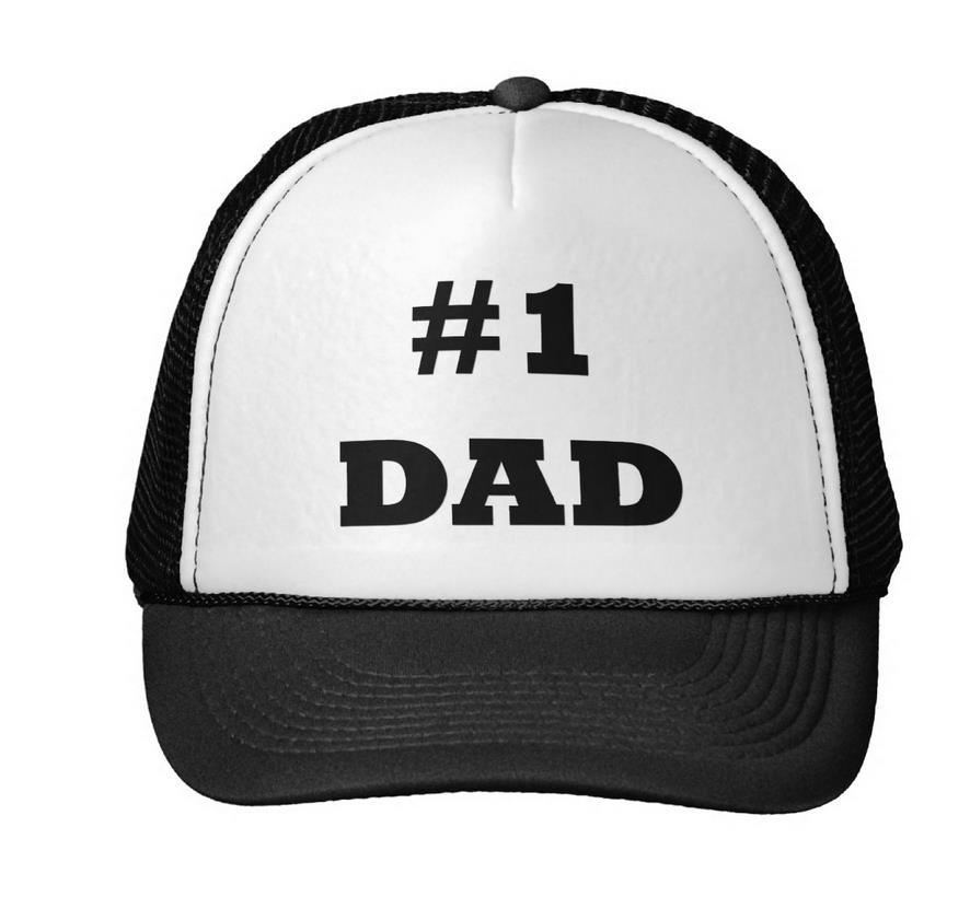 971ae58cf5ccb Feliz Día del Padre número 1 papá gorra de béisbol sombrero de camionero  para las mujeres hombres unisex malla ajustable tamaño negro blanco drop  Ship M 43 ...