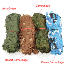 Militaire Camouflage Netting Military Camo Decoration Shade Mesh Army Green Hunting Outdoor Camping Sun Shelter Tarp Tent Beach