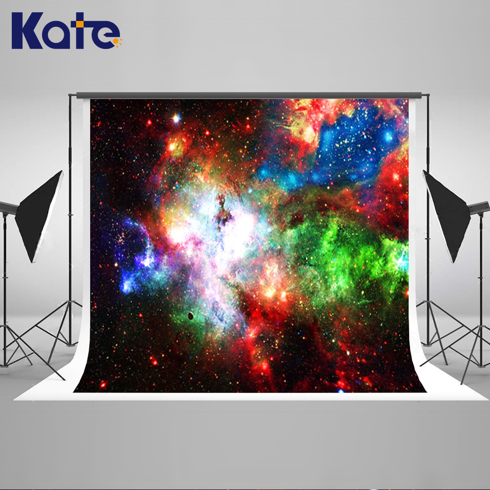 Kate Blue Night Sky Backdrops Scenic Photography Backdrops Children Cosmic Space Large Size Seamless Photo брелок blue sky faux taobao pc006