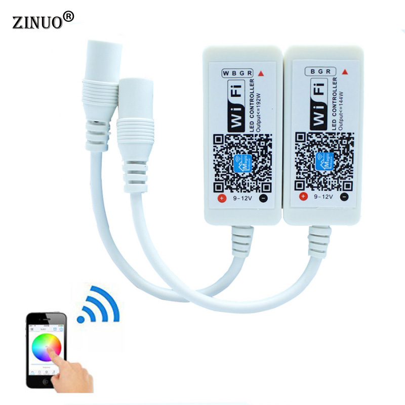 ZINUO Magic Home Mini RGB RGBW Wifi Controller For Led Strip Panel light Timing Function 16million colors Smartphone Control