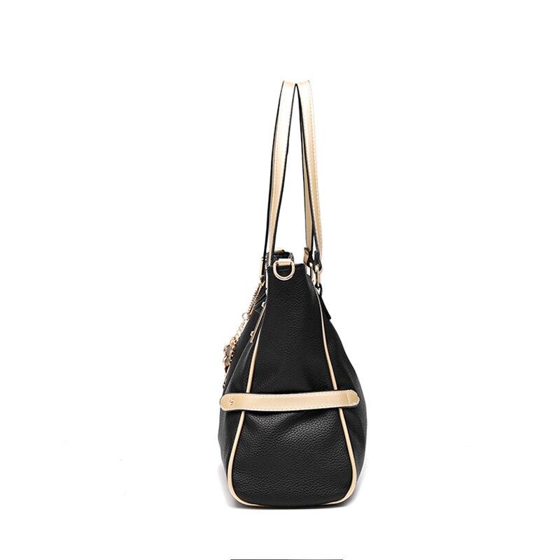ženske usnjene torbice ženski plima kul stil modne torbice - Torbice - Fotografija 2