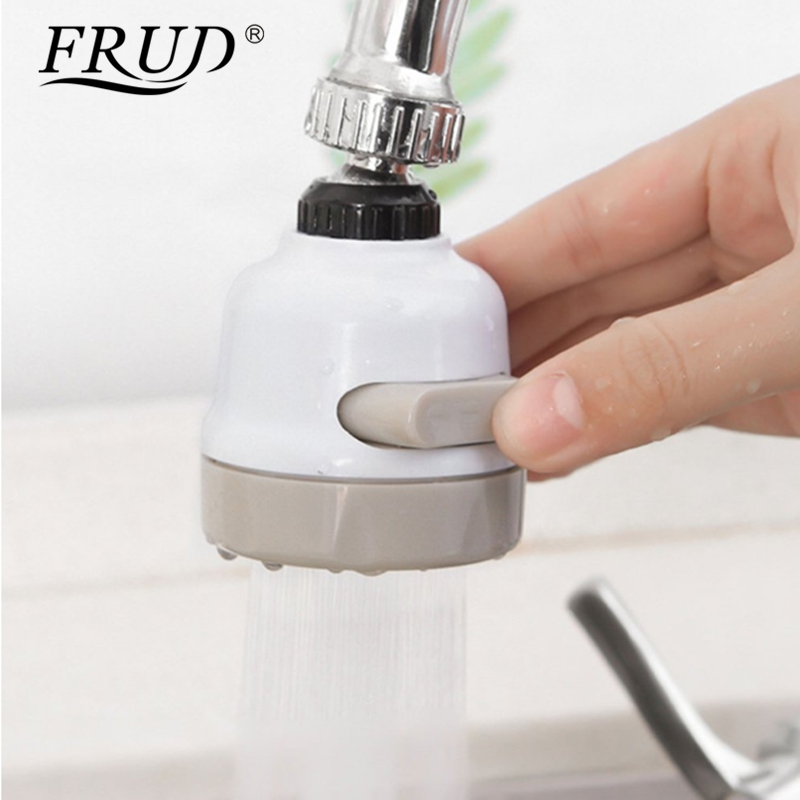 FRUD Moveable Kitchen Tap Head 360 Degree Rotatable Kitchen Faucet Aerator Water Saving Sprayer Lightweight Home Filter Nozzle