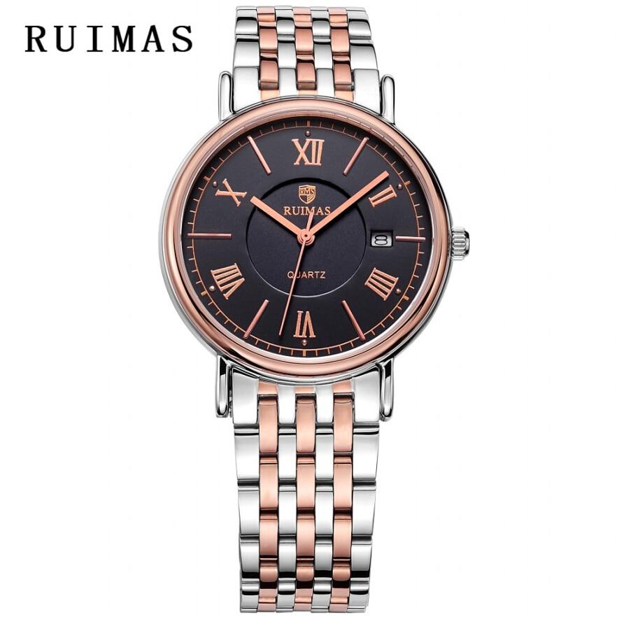 Vestido de caballero de negocios RUIMAS Reloj de cuarzo masculino - Relojes para hombres - foto 4