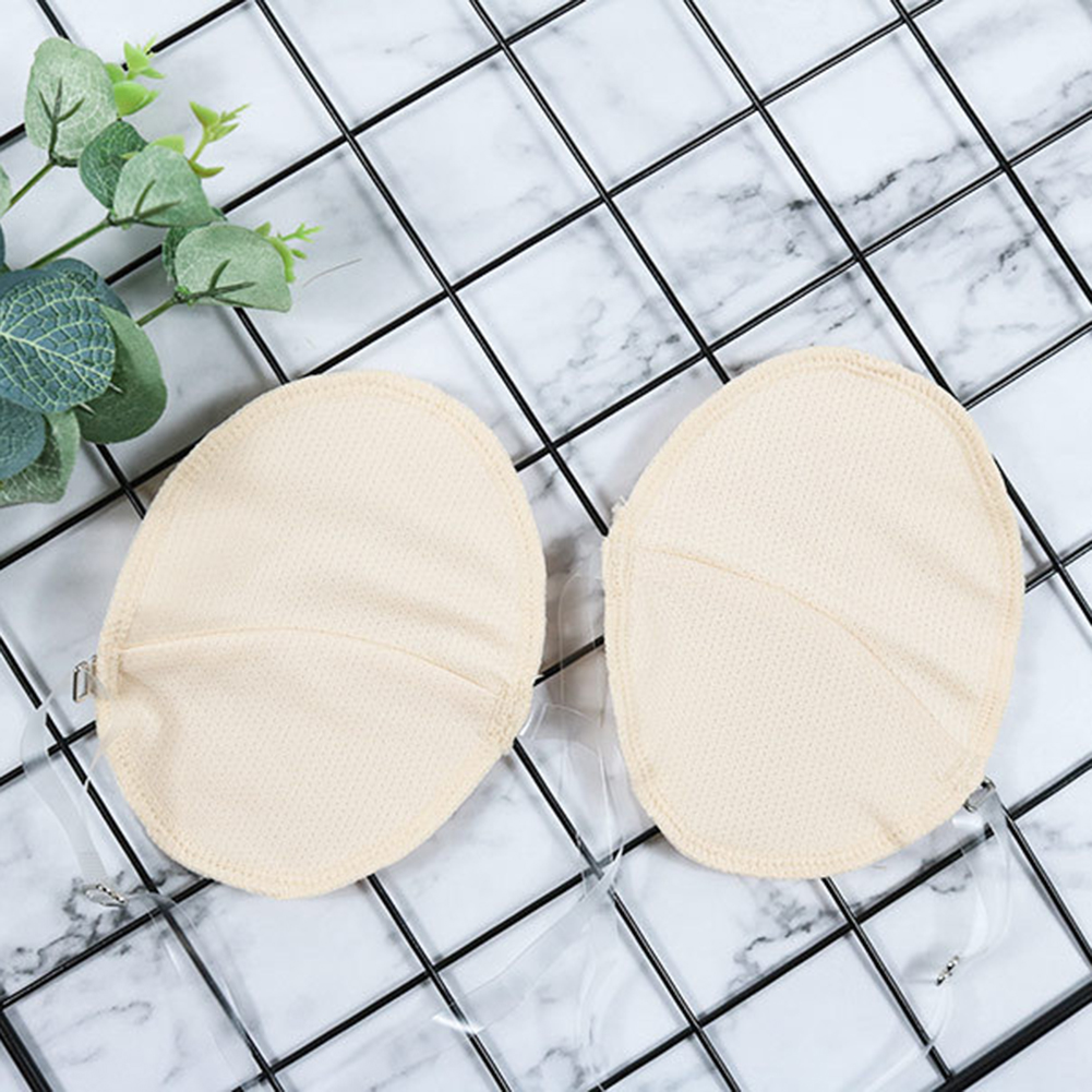 2019 Dropship 1 Pair Underarm Sweat Shield Pad Washable Armpit Sweat Absorbing Guards Shoulder Strap