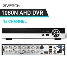 5In1 Hybird DVR 1080N AHD DVR 16 チャンネルビデオレコーダー H.16 チャンネル 1080 1080P Nvr CCTV AHD カメラ & IP カメラ