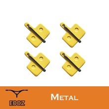 4 Pairs Bicycle Metallic Metal Disc Brake Pads For Shimano M375 M395 M416 M445 M446 M485 M486 M515 M525 Orion Auriga Pro