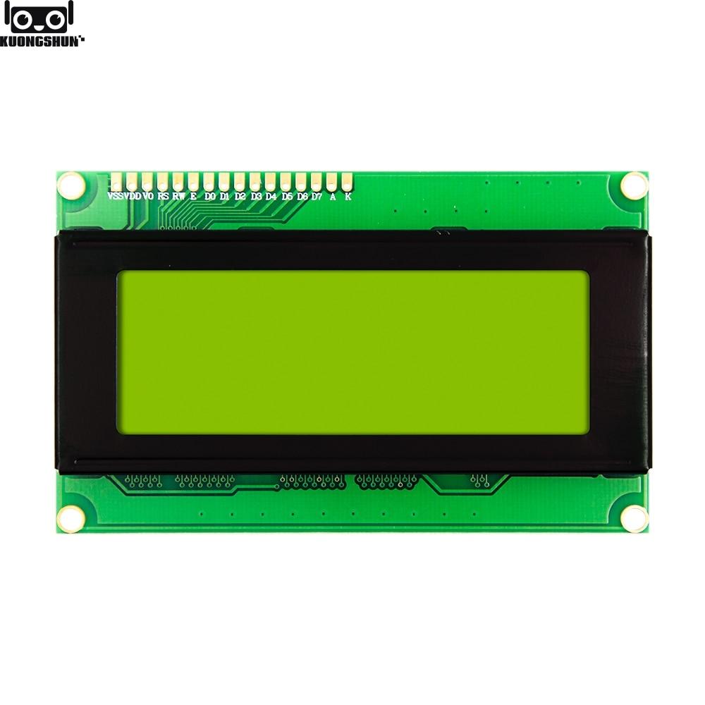 LCD Module Display 2004 204 HD44780 Yellow Green Blacklight FOR ARDUINO