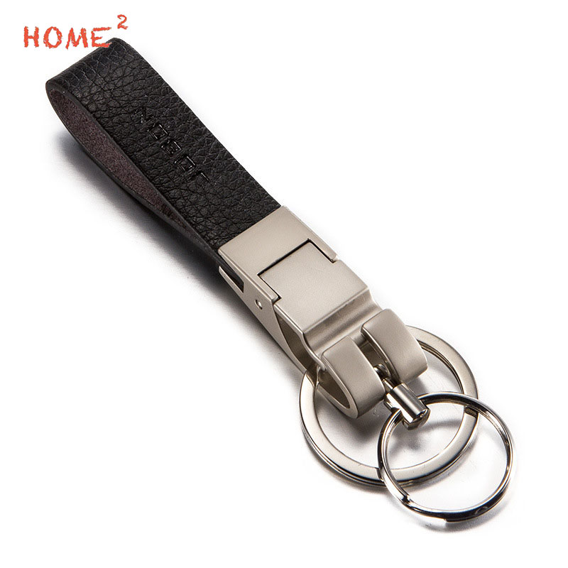 US $10 73 21% OFF Business Gifts Car Styling Upscale Keychain Leather Key  Ring Holder for Renault Lexus Subaru Volkswagen Audi Volvo Mazda Buick-in