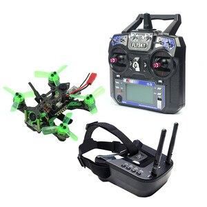 Image 1 - Mantis85 85mm 6CH 2.4G RC FPV 마이크로 레이싱 드론 Quadcopter 600TVL 카메라 VTX 듀얼 안테나 5.8G 40ch 미니 비디오 고글 RTF