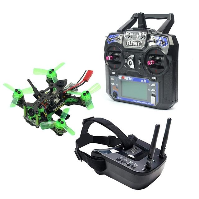 Mantis85 85mm 6CH 2.4G RC FPV 마이크로 레이싱 드론 Quadcopter 600TVL 카메라 VTX 듀얼 안테나 5.8G 40ch 미니 비디오 고글 RTF