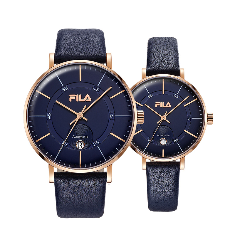 a739ac7d Fila watches couple table automatic mechanical watch large dial fashion  simple waterproof 652