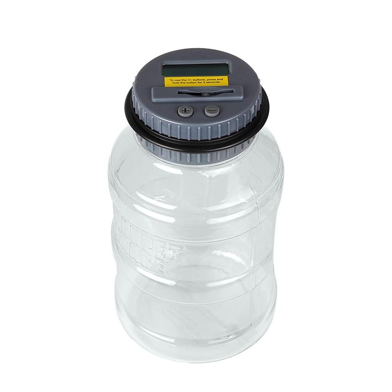 Электронный монет банка экономия денег поле jar-банк Liquid Crystal компьютер ЖК-дисплей Дисплей сохраняет безопасной цифровой подсчета
