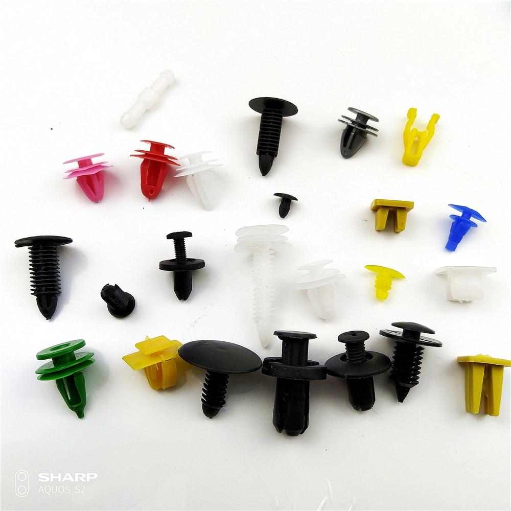 100 pcs Gemengde Clip Removal Tool Voor Peugeot 407 208 207 508 2008 406 301 106 307 308 206 806 605 Citroen C3 Saxo Xsara C4l C5 C3