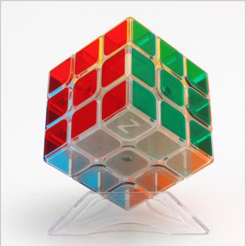 Cubo de Rubiks 3x3x3 cubo mágico profesional competición velocidad rompecabezas cubos juguetes para niños cubo mágico resplandor