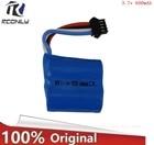 3.7V 600mAH 18350 4P line Lipo Battery For Udi UDI001 RC Boat genuine momentum of cylindrical lipo battery 3.7V
