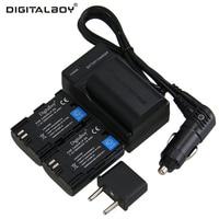 Digitalboy 2650mAh LP E6 3pcs Battery Charger LP E6 LPE6 For Canon EOS 5DS 5D Mark